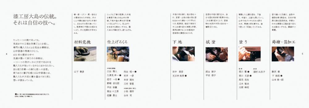 漆工房-大島 商品カタログ